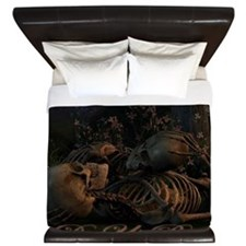 til death do us part poster King Duvet