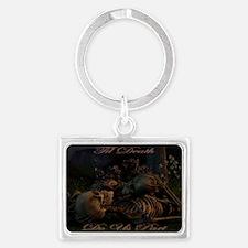 til death do us part poster Landscape Keychain