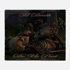til death do us part poster Throw Blanket