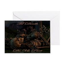til death do us part poster Greeting Card