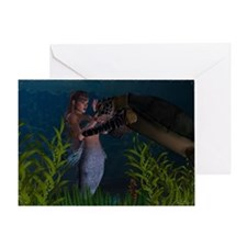Aquatic Touch Greeting Card