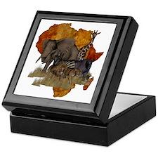 Safari Keepsake Box