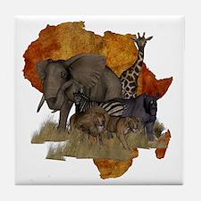 Safari Tile Coaster