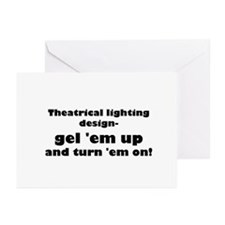 Costume crew Greeting Cards (Pk of 10)