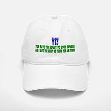 My Opinion Baseball Baseball Cap