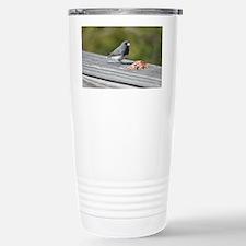 Dark-Eyed Junco Travel Mug