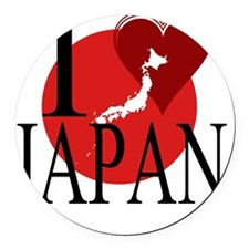 Japan Round Car Magnet