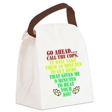 Call the cops Canvas Lunch Bag