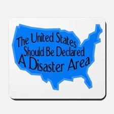 Disaster Area Mousepad