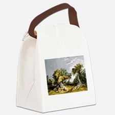 The garden of Gethsemane - 1846 Canvas Lunch Bag