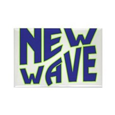 New Wave Rectangle Magnet
