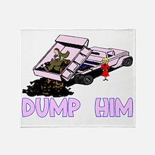 Dump Him Throw Blanket