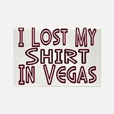 Vegas Rectangle Magnet