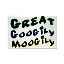 Googily Moogily Rectangle Magnet