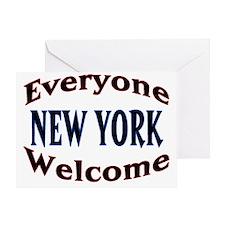 Everyone Welcome Greeting Card