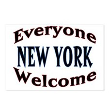 Everyone Welcome Postcards (Package of 8)
