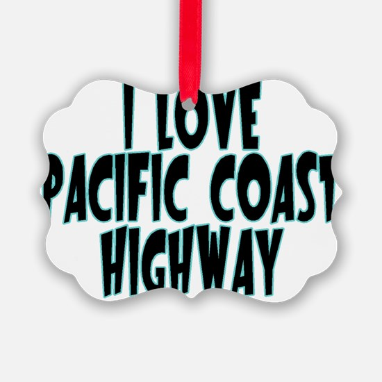 Pacific Coast Highway Ornament