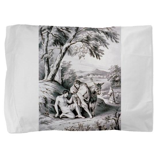 The good samaritan - 1849 Pillow Sham