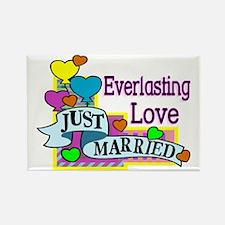 2-Everlasting Love Rectangle Magnet