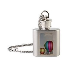 Hot Air Balloons Mino Flask Necklace