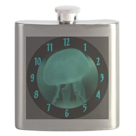5-Jellyfish Clock Flask