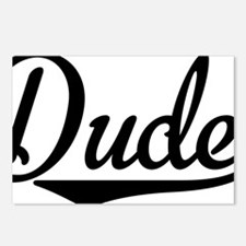 Dude Postcards (Package of 8)