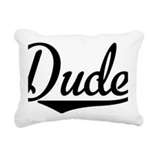 Dude Rectangular Canvas Pillow