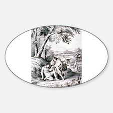 The good samaritan - 1849 Sticker (Oval)