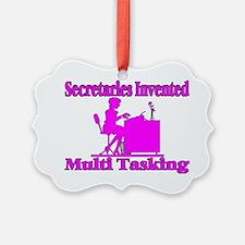 Multi Task Secretary Ornament