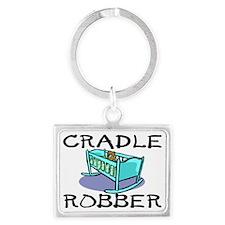 2-Cradle Robber Landscape Keychain