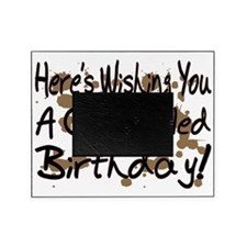 Crap Filled Birthday Picture Frame