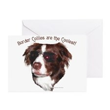"""Border Collie Cool"" NoteCards (6)"