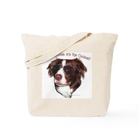 """Border Collie Cool"" Tote Bag"