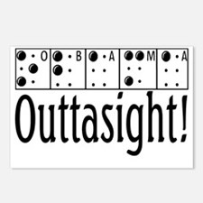 Obama Outtasight Postcards (Package of 8)