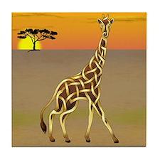 Giraffe Tile Coaster