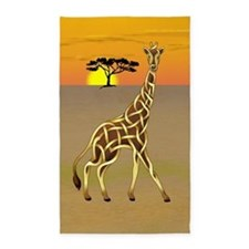 Giraffe 3'x5' Area Rug