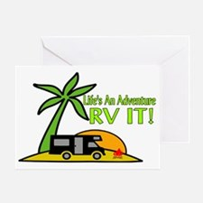 RV Adventure New Greeting Card