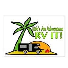 RV Adventure New Postcards (Package of 8)