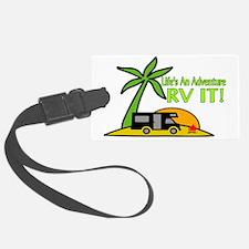 RV Adventure New Luggage Tag