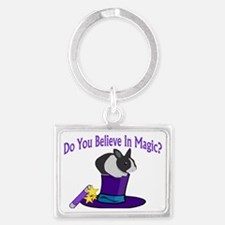 Believe in Magic New Landscape Keychain