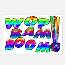 Wop Bam Boom Stars Postcards (Package of 8)