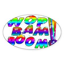 Wop Bam Boom Stars Decal