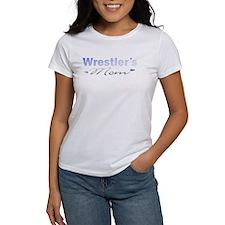 Wrestling Mom Blu/Gray Tee