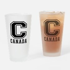 Canada Designs Drinking Glass