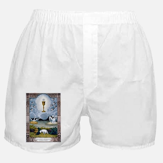 The holy eucharist - 1848 Boxer Shorts