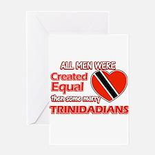 Trinidadian Wife Designs Greeting Card