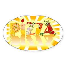 Sunshine Pizza Decal