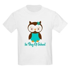 1st Day of School Owl T-Shirt