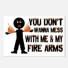 Me  My Fire Arms Postcards (Package of 8)