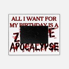Birthday Zombie Apocalypse Picture Frame